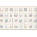 Двухсторонний коврик Parklon Bubble «Нежные Совы/Елочки» (130x190 см)
