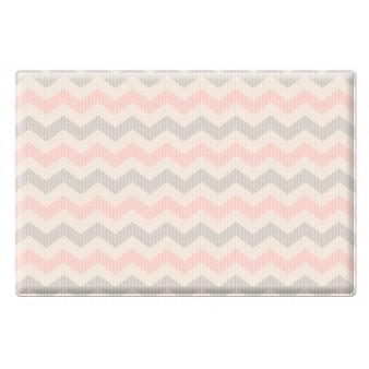 Портативный двусторонний коврик Parklon Pure Soft «Космос/Зигзаги» (190x130 см)
