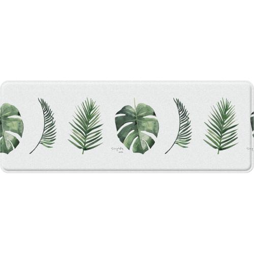 Двухсторонний коврик Parklon Mini «Монстера» (120x44 см)