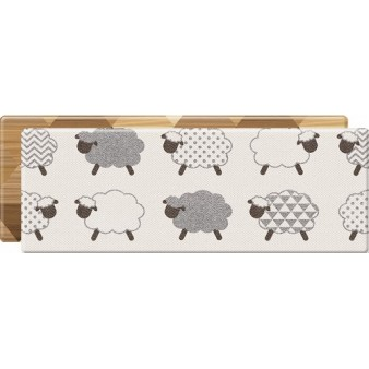 Портативный коврик Parklon Mini «Уютные барашки/Мозаика» (120x44 см)