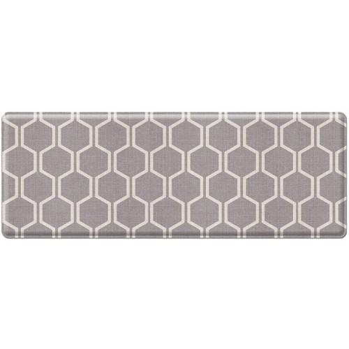 Портативный коврик Parklon Mini «Керамика/Серые полосы» (95x44 см)