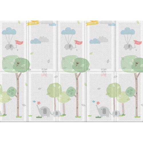 Портативный складной коврик Parklon Portable «Веселая прогулка» 140x200