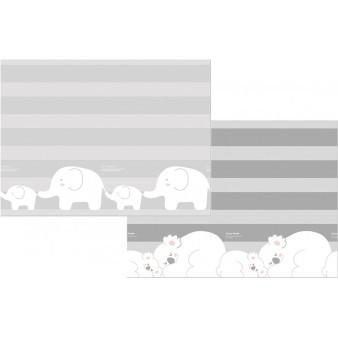 Портативный двусторонний коврик Parklon Prime Living «Коалы/Слоники за хвостики» 200x180