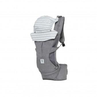 Рюкзак-переноска Todbi Hidden 360 Special Edition серый