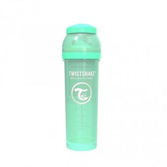 Антиколиковая бутылочка Twistshake для кормления, 330 мл