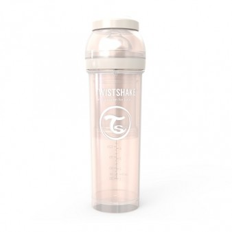 Антиколиковая бутылочка для кормления Twistshake Pearl, 330 мл