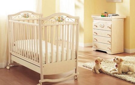 37422771b Детские кроватки для новорожденных – качественная итальянская мебель для  малышей.